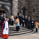 "The Trustees of the Memorial await the arrival of HRH The Princess Royal<br/><a href=""gallery/annual-service-2016/153/add/#comments""Add comment/a"